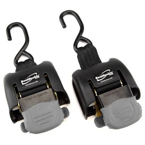 academy boatbuckle 174 g2 retractable transom tie downs 2 pack