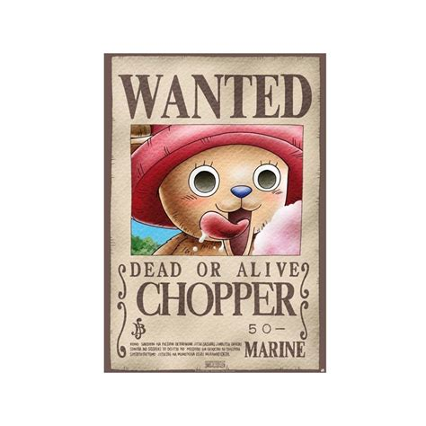 Poster Wanted One poster one quot wanted chopper quot 98x68cm oyoo