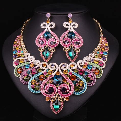 aliexpress buy fashion bridal jewelry sets wedding