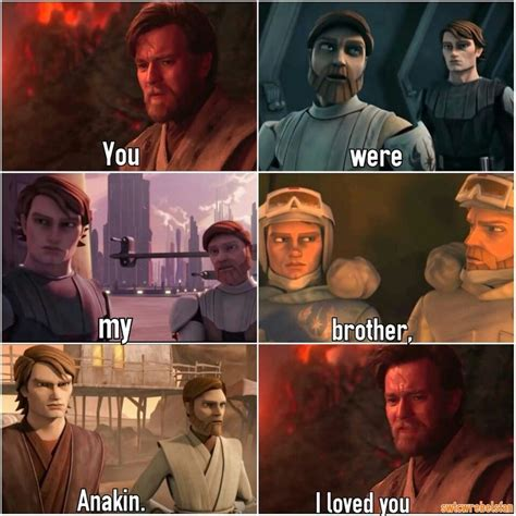 you were my anakin i 17 best images about obi wan and anakin on the