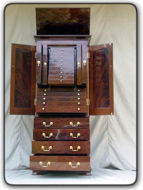 unique jewelry armoire fivebraids custom woodworking jewelry armoire
