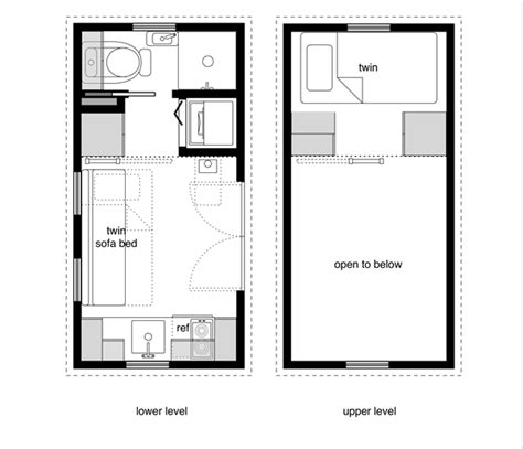 home floor plan books 8x16 tiny house floor plan sle from the book tiny house