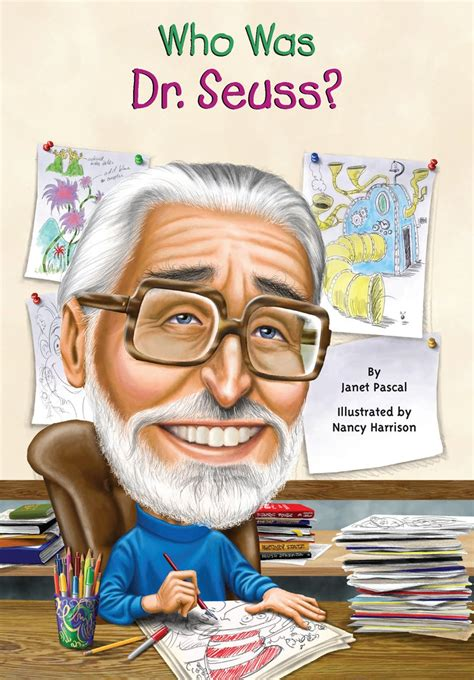who was who was dr seuss by janet b pascal scholastic