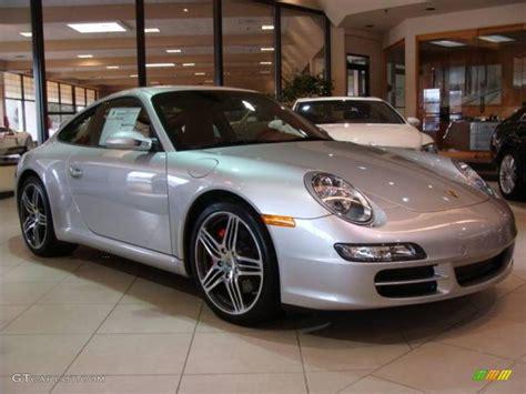 2008 arctic silver metallic porsche 911 s coupe 5596330 gtcarlot car color