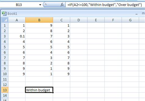 tutorial excel logical functions if logical test value if true value if false specifies a