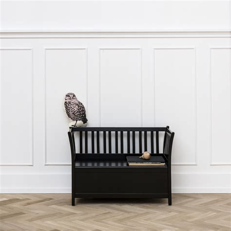 playroom storage bench black playroom storage bench by oliver furniture diddle tinkers