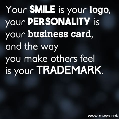how to your to smile your smile is your logo 248 eminently quotable quotes sayings inspiration