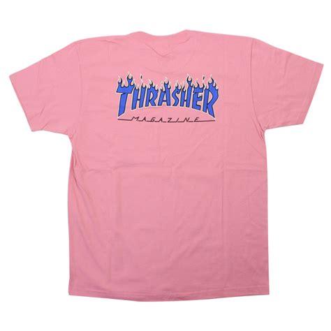 Kaos T Shirt Supreme Overdyed Pink stay246 rakuten global market supreme shupurimu x thrasher 15ss logo print t shirt