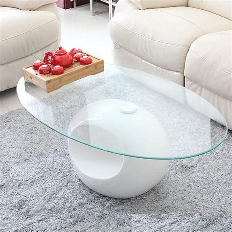 Oval Coffee Table White Storage Small Apartment Living Room Coffee Table White Oval Coffee Table Glass Coffee Table