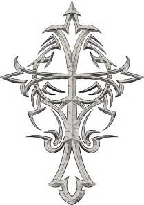 cross tattoos with tribal designs celtic cross tattoos for designs for free
