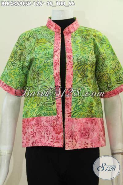 Bolero Batik Dua Motif Bolak Balik batik balero dua motif kwalitas bagus desain mewah model bolak balik baju batik proses cap