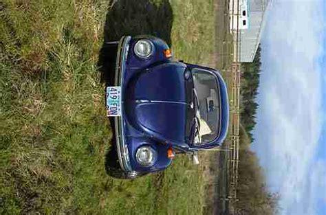 purchase   super beetle fully restored  carlton oregon united states