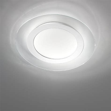 plafoniera bagno design plafoniera led moderna 6522 55 di antea luce