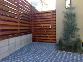 solid wood fence design high ideas kitchentoday