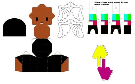 Paper Craft Central - central mo papercraft template by ricecooker on