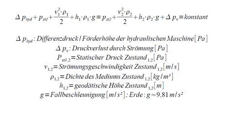 Bernoulli Scformula bernoulli gleichung