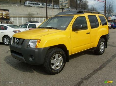 2007 solar yellow nissan xterra s 4x4 47906177 gtcarlot car color galleries