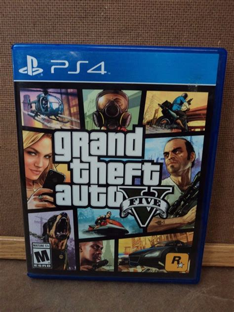 Ps4 Playstation 4 Grand Theft Auto V ps4 grand theft auto v eur ps4 tcd