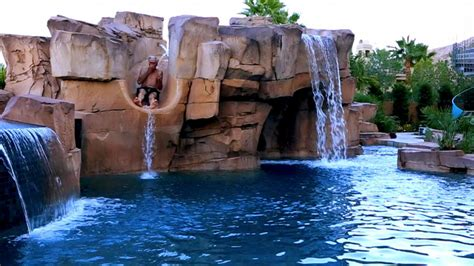 Backyard Pools Tv Show Ultimate Pools This Is One High Rolling Las Vegas Pool