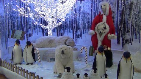 christmas display  stockton garden centre november  youtube