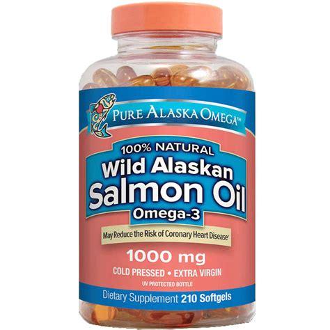 Puritan Omega 3 Salmon 500mg 100 Softgels fish oils vitasprings