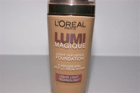 L 39 Oreal Lumi Magique Foundation Original Sand L Oreal Lumi Magique Foundation Review The Sunday