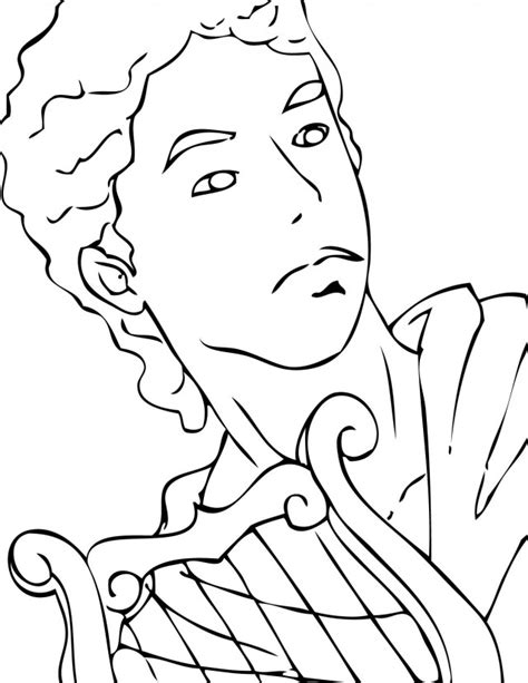 apollo greek god coloring pages