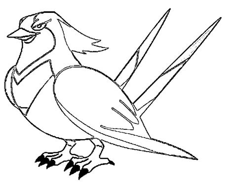 pokemon coloring pages taillow coloring pages pokemon swellow drawings pokemon