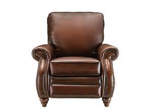 emery leather recliner recliners raymour and flanigan