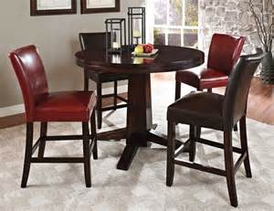 Counter Height Round Table Sets - steve silver hartford round counter height dining set at gowfb ca free shipping