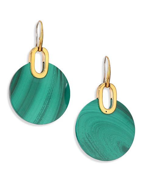 Haltany Sunglasses Vancleef 08 Earrings michael kors cityscape disc green malachite drop earrings