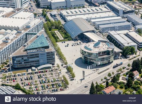 audi headquarters aerial view corporate headquarters of audi ag at the main