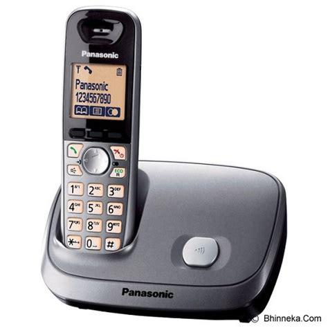 Murah Telephone Wireless Panasonic Kx Tg 1611cxc Murah jual panasonic cordless phone kx tg6511 silver murah