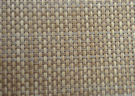 rattan color textilene fabric in pvc coated mesh fabric