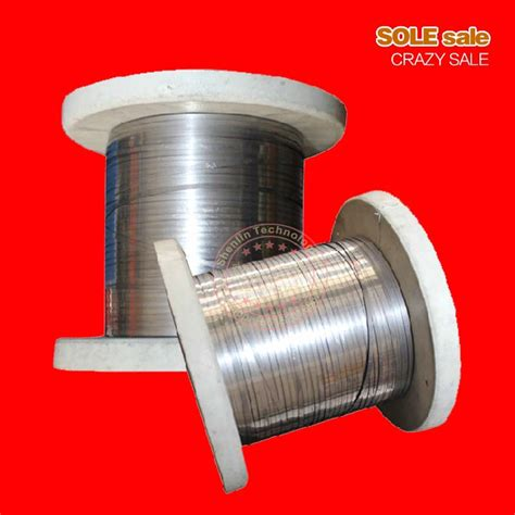electrical resistor wire aliexpress buy electrical heating wire 3mm flat belt electric resistance wire heating