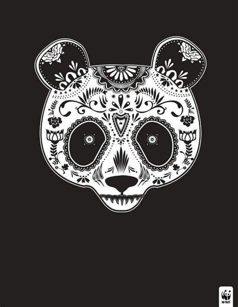 Sugar Skull Panda panda sugar skull design