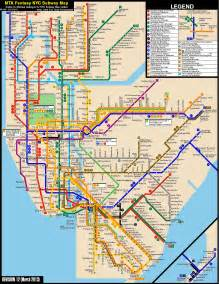 New York City Train Map by New York City Subway Fantasy Map Revision 12 By