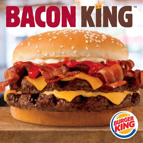 burger king burger king 174 restaurants introduce the big and hearty bacon king sandwich