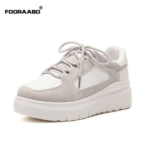 Original Buccheri Casual Shoes fooraabo 2017 korean original breathable s casual shoes summer classic platform