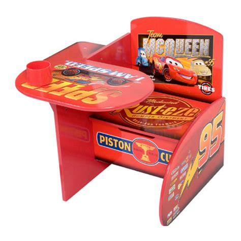 Lightning Mcqueen Desk by The All In One Disney Pixar Cars Chair And Desk Modern
