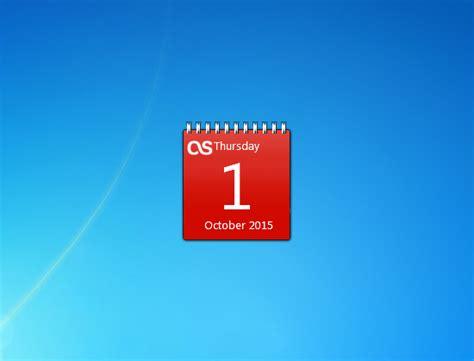 Calendar Desktop Gadget Windows 7 Calendar Gadget Windows 7 Desktop Gadget