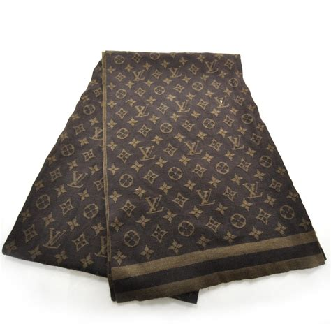 louis vuitton monogram scarf 25622