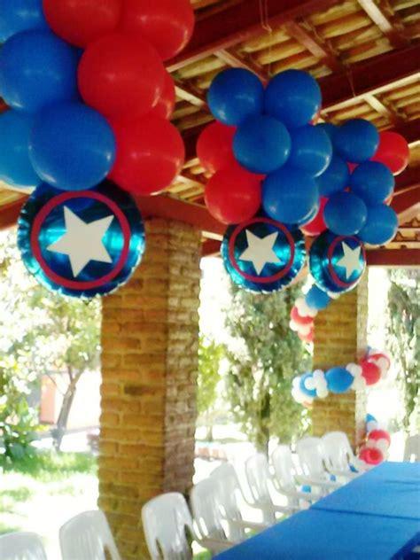 capitan america decoracion ambientacion cotilln fiestas m 225 s de 1000 ideas sobre fiesta de capit 225 n am 233 rica en