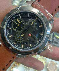 Expedition 6603 Original 1 jual expedition 6603 white steel brown leather baru jam