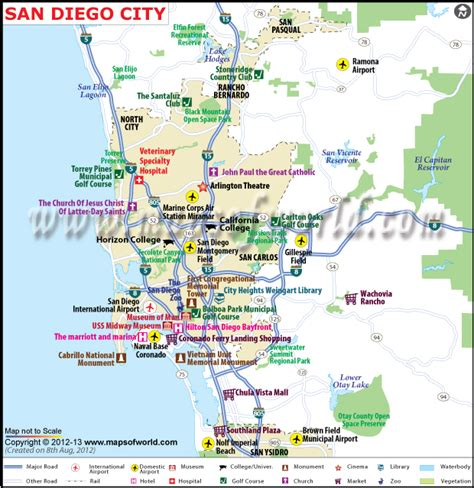 san diego on map of usa san diego city map ca san diego california map