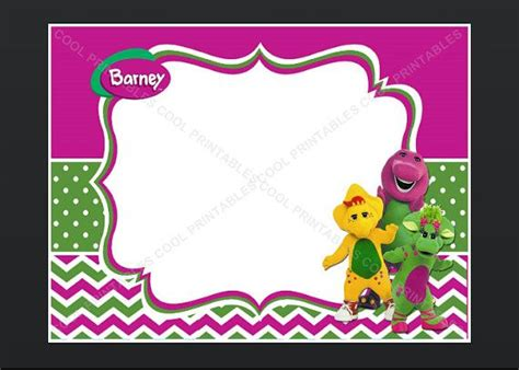 barney birthday card template 71 best images about barney birthday on