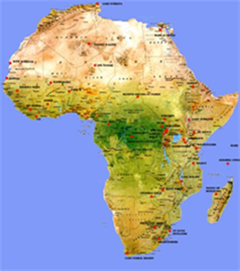 africa map rivers and mountains map of africa rivers mountains and lakes
