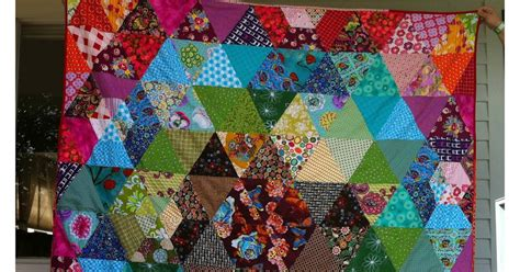 duke says sew what finished prism patchwork quilt