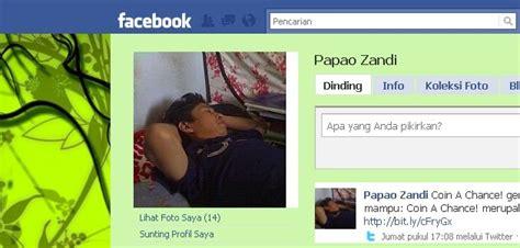 cara layout artikel cara mengganti background facebook mengubah layout fb