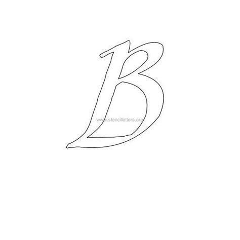 calligraphy designs templates uppercase calligraphy wall stencil letter b letter